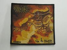 VADER GO TO HELL WOVEN PATCH