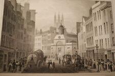 ST MARTIN OUT WICH BISHOPSGATE ANTIQUE PRINT LONDON 1831 SHEPHERD  R3413