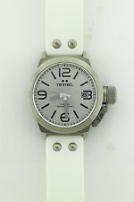 NEW TW Steel TW535 with White Silicone Band and Stainless Steel (NIB)