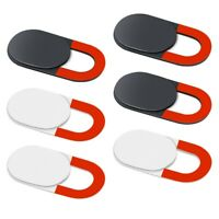 1X(6 Pack Webcam Cover Slide Ultra Thin Round Laptop Camera Cover Slide Pri S1C1