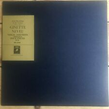 GR 2084 Sibelius Violin Concerto / Suk Four Pieces / Ginette Neveu