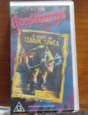 Goosebumps R L Stine VHS A Night in Terror Tower 1996 Movie