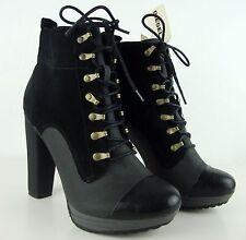 DIESEL Stiefeletten Ankle Boots Damen Leder Halbstiefel Gr.39 NEU mit ETIKETT
