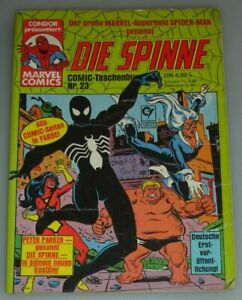 Spider-Man / Black Cat / Spider-Women / Marvel Comic-Taschebuch 23. Germany 1984