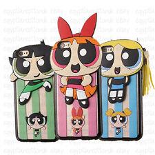 PER IPHONE APPLE 6 6S & 6Plus/6S + MERAVIGLIOSO Powerpuff Girls 3D CARINA
