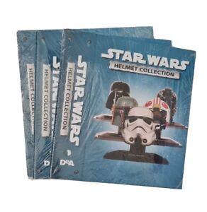 "Star War ""Deagostini"" Helmet Collection Magazines Folders Binder"