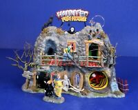 Animated Lighted Haunted Carnival Fun House Department 56 Halloween  Snow Vil