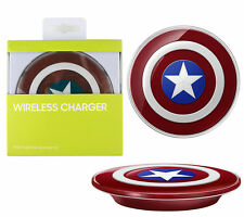 Avengers Edition Qi Wireless Charger Charging Pad for Samsung S6 Edge G920f