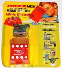 Powermite Vintage Ideal Orbital Sander Tool 1970 NOS Mint on Blister Card PWC