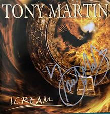Tony Martin - Scream Signed Autographed Cd, Black Sabbath