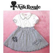 Ank Rouge Dress Lolita Hime Gyaru Kawaii Very Cute (a391)