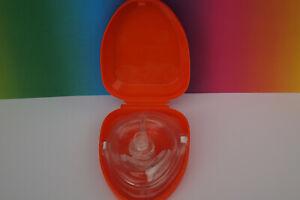 Beatmungsmaske Beatmungshilfe Pocket Mask CPR Verbandkasten Urlaub Hausapotheke