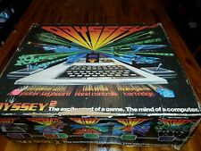 Magnavox Odyssey 2  Gray Console Complete CIB w/ 1 Game Speed Way tested works.