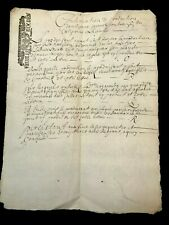 Very Old Document 1709