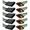 5Stk 6-Polig Kabel Set KFZ Steckverbinder Stecker Wasserdicht Steckverbindung