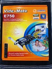 Compro VideoMate E750 PCIe Dual DVB-T TV Card