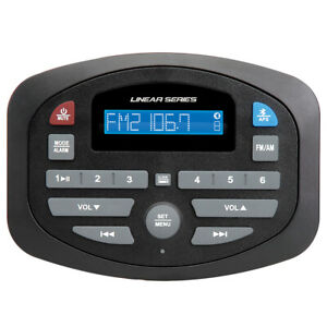 Magnadyne Linear Series SP1 AM/FM Bluetooth Compact Receiver.