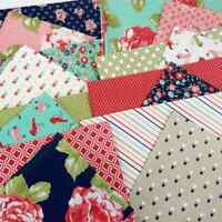 EARLY BIRD Bonnie and Camille Repro Quilting Fabric Bundle 17 fat quarters