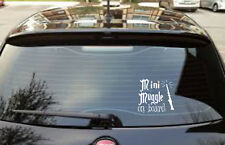 Lindo Mini Mundo a bordo Harry Potter Gracioso Pegatina de Coche Decal Magic
