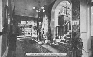 GREENORE HOTEL LONDON NORTH WESTERN REGION RAILWAY CARLINGFORD LOUGH 1900'S