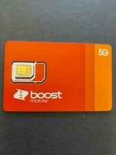 Sim Card - 5G - Expanded Network-Tn (Boost Mobile) For iphones & Android - New