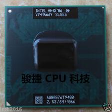Original Intel Core 2 Duo T9400 2.53GHz Dual-Core (AW80576GH0616M) Processor CPU