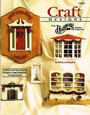 CRAFT BOOK - 4 ISSUES - FLOWER ARRANGING - MINIATURE FIMO TREATS - HOLIDAY CRAFT