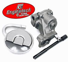 HV Oil Pump w/ Pickup Screen & HD Steel Drive - Chevrolet SBC 327 305 350 400