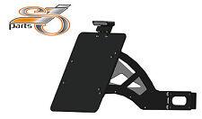 Harley Davidson Super Glide Soporte de matrícula lateral + iluminación completa