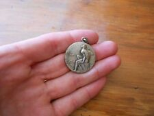 Oldest Uruguay CLUB NEPTUNO medal with NEPTUNE GOD and fishes