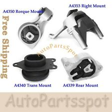 Engine Motor & Trans Mount Set 4 For 07-12 Nissan Altima 2.5L AT CVT Trans G238