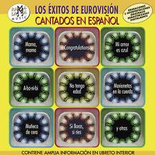 LOS EXITOS DE EUROVISION CANTADOS EN ESPAÑOL  -CD