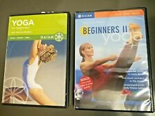 Flow Yoga for Beginners & Yoga for Beginners 2 Ii Fitness Dvd w/ Patrica Walden