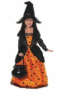 Pumpkin Witch Costume for Girls