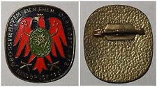 Broschen-Anstecknadel Grosstreffen der ehem. Gebirgstruppe Insbruck 1961