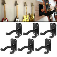 6 x Gitarrenhalter Wandhalter Gitarrenwandhalter Wand Halterung Ständer Stativ