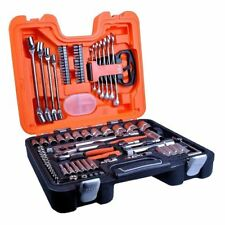 Bahco S910 S910 Socket Set 92-Piece 1/4-Inch And 1/2-Inch Drive