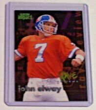 1997 Skybox Impact Rave Reviews Insert #2 John Elway Denver Broncos Stanford