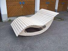 Relaxliege - Schaukelliege, Holzliege, Gartenmöbel - Entspannung, Wohlfühlliege
