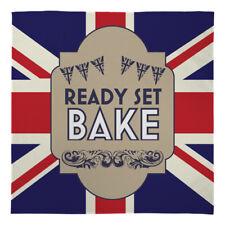 GRANDE coperta in pile caldo Buttare Ready Set Bake Union Jack Letto Sedia Divano Auto
