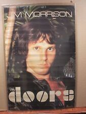 vintage The Doors Jim Morrison original rock band music artist poster  11350