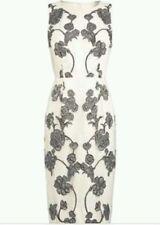 BNWT * NEXT * Size 12T MESH GREY TAPEWORK DRESS, PARTY, EVENING,WEDDING, £80
