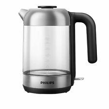 Philips HD9339/80 Series 5000 Wasserkocher 1,7L 2200W Glas/Edelstahl Mikrofilter