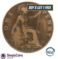 GEORGE V PENNY / PENNIES 1911 TO 1936 - CHOICE OF YEAR / DATE
