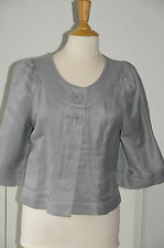 H&M * Superbe veste paletot gris * T. 38