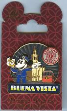Disney Mickey Mouse in Blue Uniform: Red Car Trolley on Buena Vista St. Pin MOC!