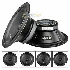 "4 Audiopipe APMB-8SB-C Two Pair 8"" Sealed Back Mid Range Loud Speaker Mid"