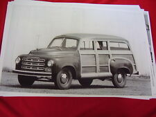 1949 STUDEBAKER CANTRELL WOODY STATION WAGON   BIG 11 X 17  PHOTO /  PICTURE