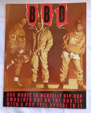 """Bbd Bell Biv Devoe Hip-Hop Program 1991, 11"""" x 14"""""""