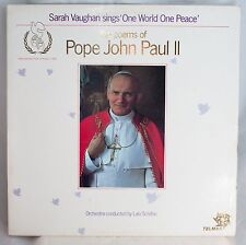 Poems of Pope John Paul 2 Sung by Sarah Vaughan Conducted by Lalo Schifrin